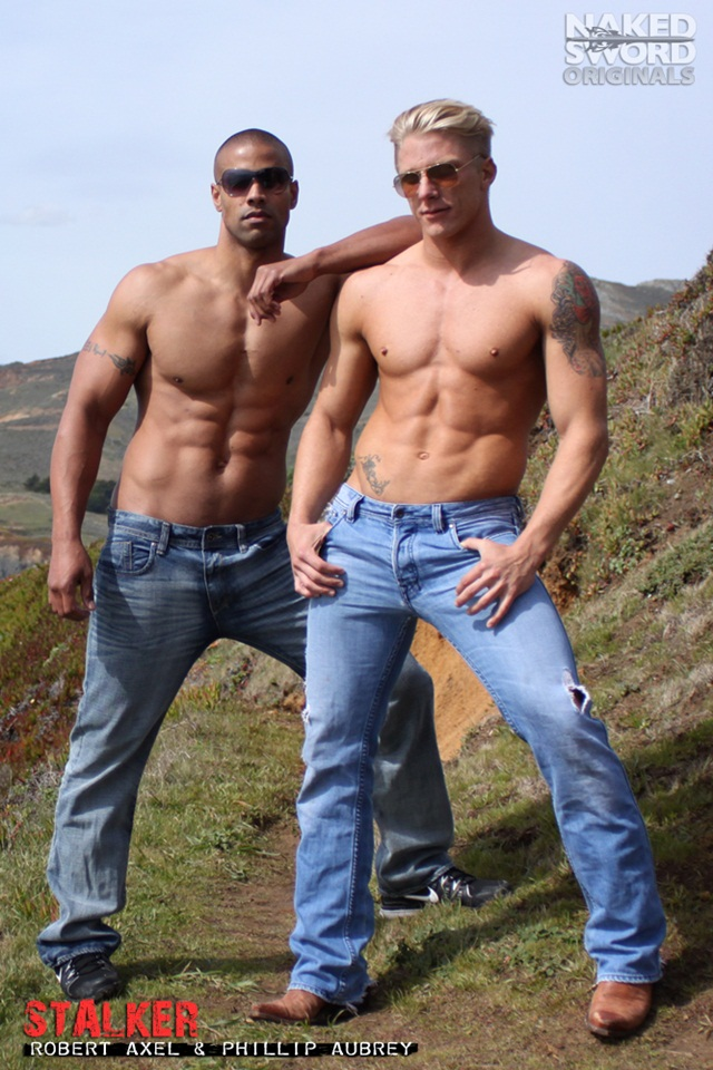 Stalker-Episode-The-Drive-with-Brady-Jensen-and-Phillip-Aubrey-at-Naked-Sword-1-Ripped-Muscle-Bodybuilder-Strips-Naked-and-Strokes-His-Big-Hard-Cock-photo1
