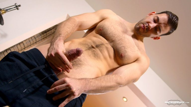 Maskurbate-hairy-chest-naked-muscle-stud-Nathan-Topps-ripped-six-pack-abs-huge-thick-large-dick-solo-jerking-stroking-massive-cumshot-001-gay-porn-sex-gallery-pics-video-photo