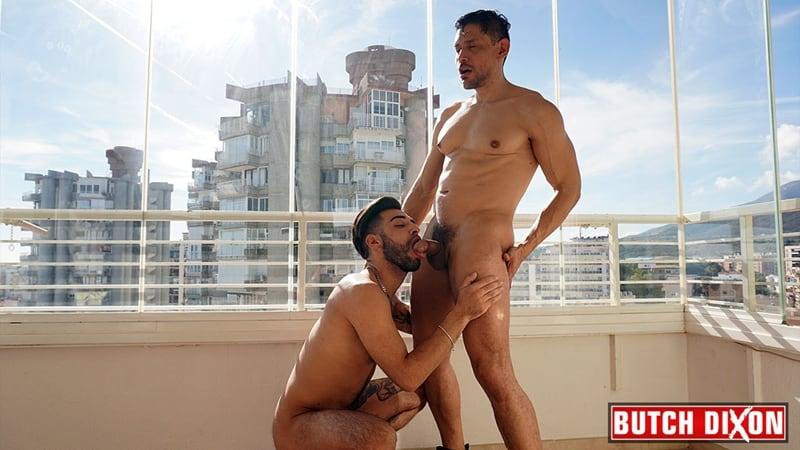 Tanned-hunk-Yah-Jil-big-thick-uncut-dick-bareback-fucking-John-Rodriguez-hot-muscle-hole-001-gay-porn-pics