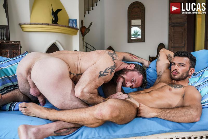 Horny-ripped-young-hunk-Pol-Prince-hole-bare-fucked-hairy-daddy-Sergeant-Miles-Lucas-Entertainment-0-image-gay-porn