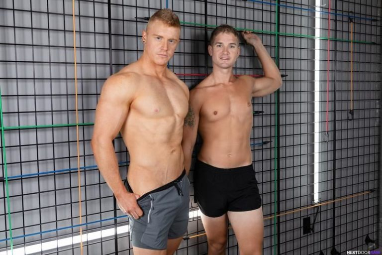 Hot-muscle-dude-Brandon-Anderson-huge-dick-fucking-young-dude-Alex-Tanner-bare-ass-Next-Door-Studios-0-image-gay-porn