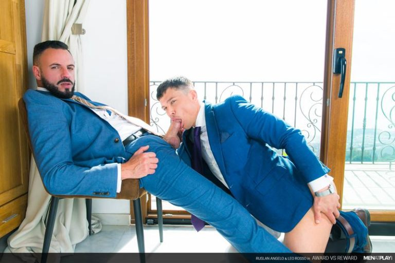 Men-Play-sexy-young-suited-stud-Ruslan-Angelo-hot-bubble-butt-raw-fucked-muscled-dude-Leo-Rosso-huge-cock-0-image-gay-porn