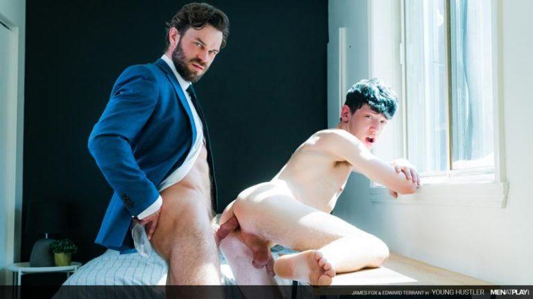 Men-Play-young-hottie-Edward-Terrant-bubble-butt-fucked-hard-James-Fox-huge-raw-cock-0-image-gay-porn