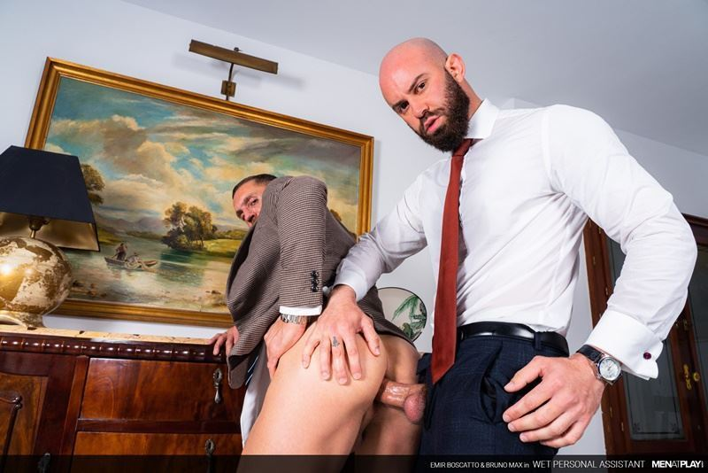 Men-at-Play-hot-suited-bottom-stud-Emir-Boscatto-tight-ass-raw-fucked-suited-Bruno-Max-massive-thick-cock-001-gay-porn-pics