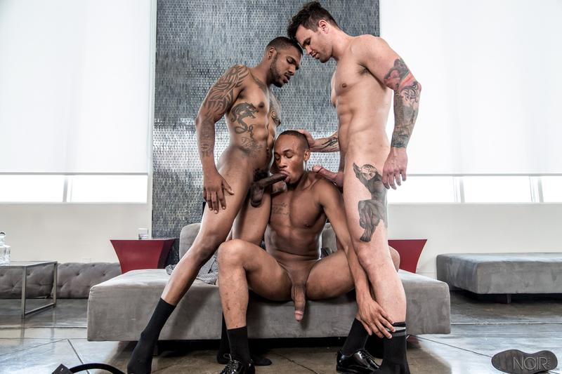 Noir-Male-bottom-dudes-Trent-King-and-Beau-Reed-asses-fucked-ebony-stud-Aaron-Reese-0-image-gay-porn