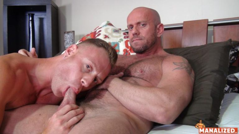 Ripped-younger-hunk-Saxon-West-huge-dick-barebacking-hot-muscle-daddy-Matt-Stevens-bubble-butt-0-image-gay-porn