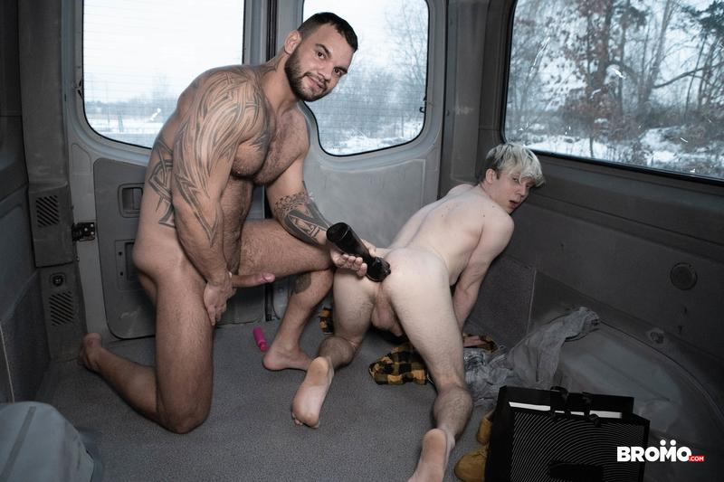 Young-dirty-blonde-twink-Filipe-hot-ass-bare-fucked-by-big-muscle-dude-Jerome-massive-cock-at-Bromo-0-image-gay-porn