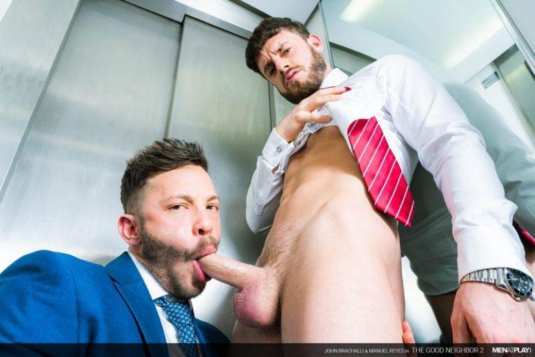 Men-at-Play-horny-bottom-muscle-boy-Manuel-Reyes-tight-asshole-bare-fucked-John-Brachalli-massive-dick-0-image-gay-porn