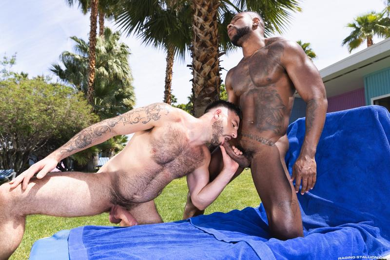 Raging-Stallion-hottie-hunk-Ian-Holms-bubble-ass-bare-fucked-Reign-big-black-cock-0-image-gay-porn
