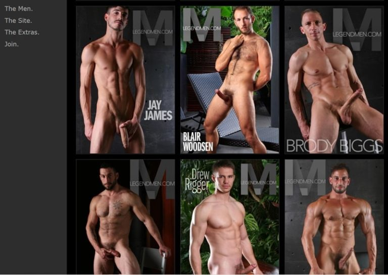 Ron-Legend-Naked-Muscled-Hunks