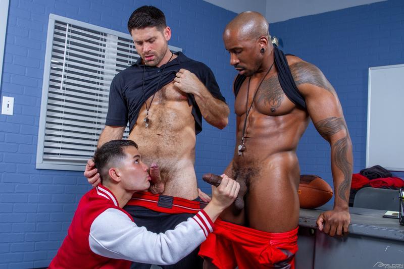 Gay-horny-threesome-Max-Konnor-Colton-Reece-spit-roast-Beau-Butler-hot-ass-Falcon-Studios-0-image-gay-porn