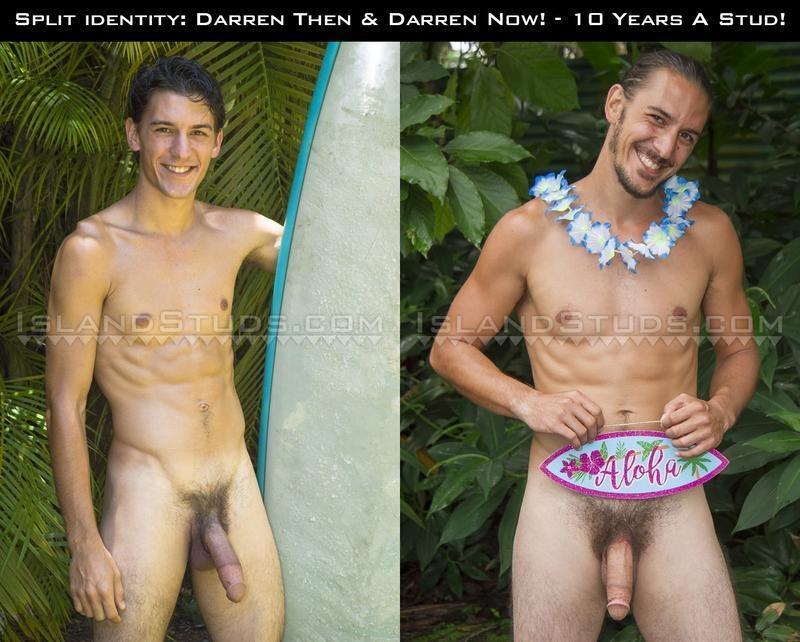 IslandStuds-sexy-big-dick-Darren-wanks-massive-9-inch-dick-spraying-jizz-over-naked-body-0-image-gay-porn