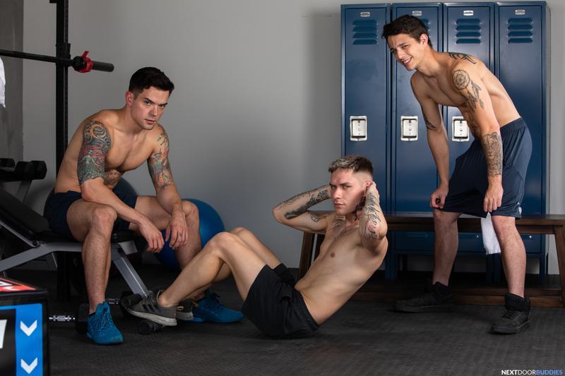 Horny-gay-gym-threesome-Dakota-Payne-Zak-Bishop-Kyle-Wyncrest-big-dick-anal-Next-Door-Buddies-0-image-gay-porn