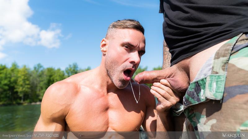 Masqulin-horny-army-stud-Ryan-Bones-huge-raw-dick-ass-fucking-Manuel-Skye-hot-hole-0-image-gay-porn